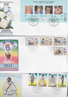 047381 Fiji  FDC First Day Cover`s - Lot