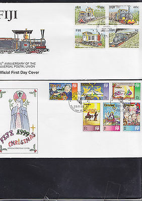 047392 Fiji  FDC First Day Cover`s - Lot