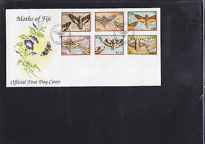 047400 Schmetterlinge Butterfly Fiji 958-63 FDC First Day Cover Year 2001