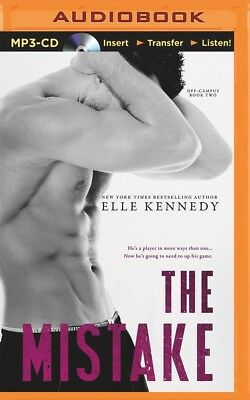 Off-Campus: The Mistake 2 by Elle Kennedy (2016, MP3 CD, Unabridged)