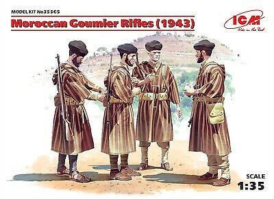 ICM 35565 Maroccan Goumier Rifles in 1:35