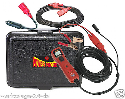 Power Probe 3 Prüfgerät 6-24V Stromkreistester KFZ Prüflampe  Made in USA  PP319