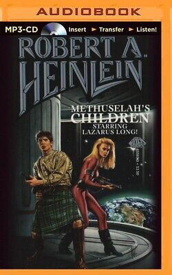 Methuselah's Children by Robert A. Heinlein (2014, MP3 CD, Unabridged)