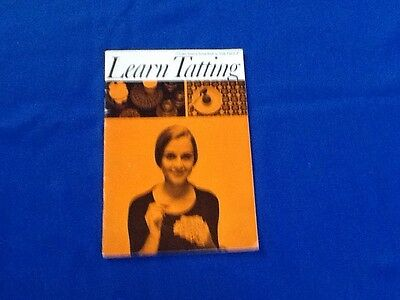 Vintage Learn Tatting (Coats) Book No. 1088