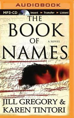 The Book of Names by Jill Gregory and Karen Tintori (2015, MP3 CD, Unabridged)