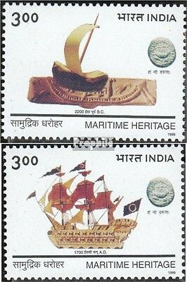 India 1681-1682 (complete.issue.) unmounted mint / never hinged 1999 Vessels
