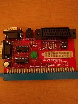 Arcade supergun jamma connector..