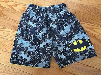 Batman Swim Trunks - Lined - 4T
