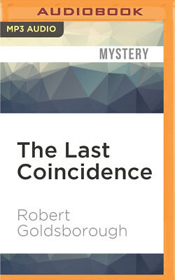 New Nero Wolfe: The Last Coincidence 4 by Robert Goldsborough (2016, MP3 CD,...