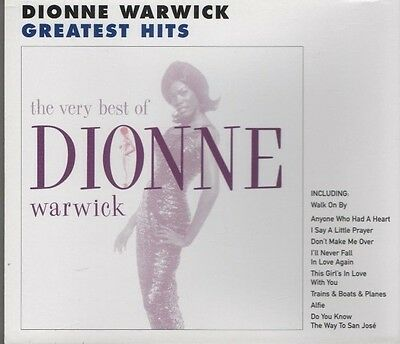 DIONNE WARWICK The Very Best of CD ALBUM  NEW - NOT SEALED