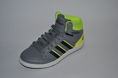 Scarpe Adidas Hoops Mid Alte Lacci Bambino Sport N 28 29 30 31 32 33 34