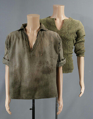 Black Sails Captain Charles Vane Zach Mcgowan Screen Worn Shirt Set Ep 203  207