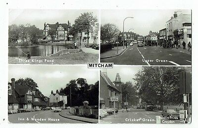 Post Card Real Photo Of Mitcham