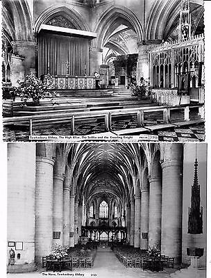Post Cards Real Photo`s Of Tewksbury Abbey