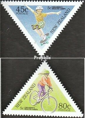 New Zealand 1428-1429 (complete.issue.) fine used / cancelled 1995 Health