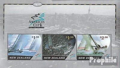 New Zealand block141 (complete.issue.) unmounted mint / never hinged 2002 Sailin