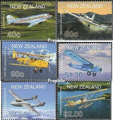 New Zealand 1908-1913 (complete.issue.) unmounted mint / never hinged 2001 Aircr