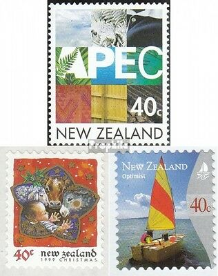 New Zealand 1786,1799,1806 (complete.issue.) unmounted mint / never hinged 1999
