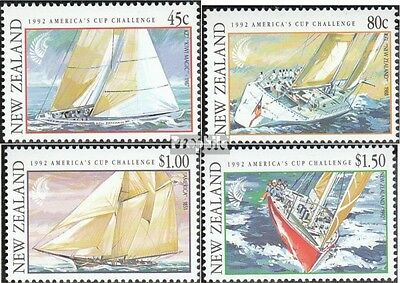 New Zealand 1211-1214 (complete.issue.) unmounted mint / never hinged 1992 Saili