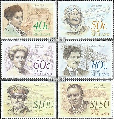 New Zealand 1116-1121 (complete.issue.) unmounted mint / never hinged 1990 Cultu
