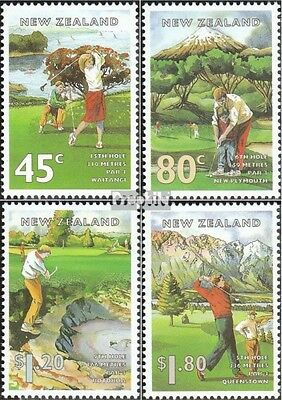 New Zealand 1405-1408 (complete.issue.) unmounted mint / never hinged 1995 Golf