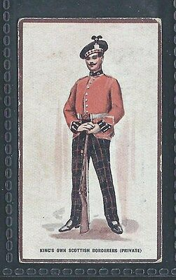 Hill Types Of The British Army Badminton No 13 Kings Own Scottish Borderers
