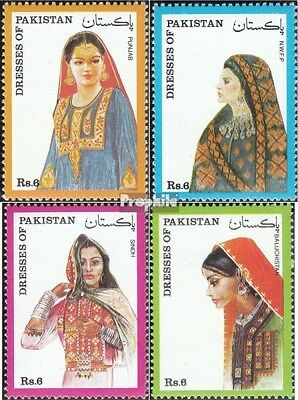 Pakistan 867-870 (complete.issue.) unmounted mint / never hinged 1993 Costumes