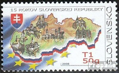 Slovakia 572 (complete.issue.) unmounted mint / never hinged 2008 Republic