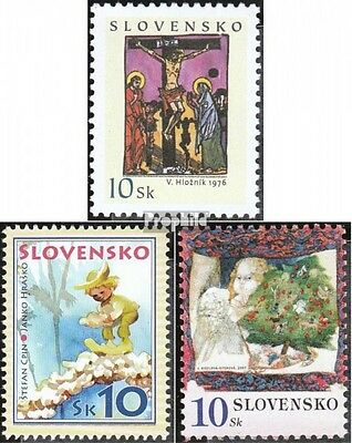 Slovakia 551,557,570 (complete.issue.) unmounted mint / never hinged 2007 Easter
