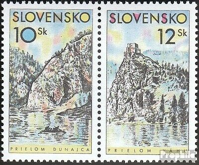 Slovakia 359-360 Couple (complete.issue.) unmounted mint / never hinged 2000 Hom