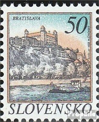 Slovakia 186 (complete.issue.) unmounted mint / never hinged 1993 Cities