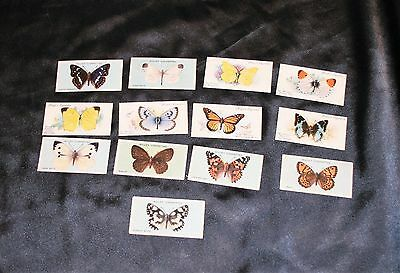 Cigarette Cards Butterflies