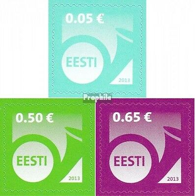 Estonia 751-753 (complete.issue.) unmounted mint / never hinged 2013 Horn