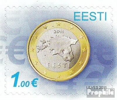 Estonia 681 (complete.issue.) unmounted mint / never hinged 2011 Euro