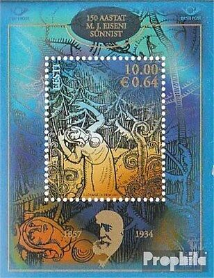 Estonia block30 (complete.issue.) unmounted mint / never hinged 2007 Iron