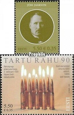 Estonia 652,654 (complete.issue.) unmounted mint / never hinged 2010 Jaakson, do