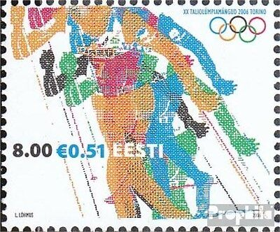 Estonia 540 (complete.issue.) unmounted mint / never hinged 2006 Olympia