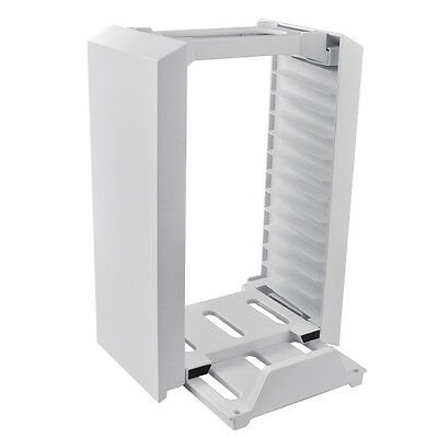 Multifunctional Vertical Stand Game Disk Storage Kit Tower for Xbox One S AC633