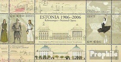 Estonia block25 (complete.issue.) unmounted mint / never hinged 2006 Theater