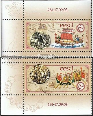 Estonia 470-471 (complete.issue.) unmounted mint / never hinged 2003 Trade route