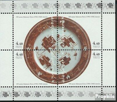 Estonia block18 (complete.issue.) unmounted mint / never hinged 2002 Eric