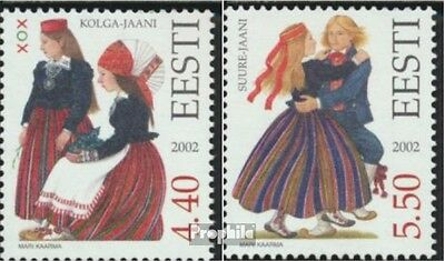 Estonia 448-449 (complete.issue.) unmounted mint / never hinged 2002 Costumes