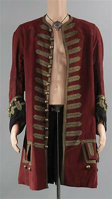 Black Sails Cpt Berringer Chris Larkin Screen Worn Coat & Jewelry Set Ep 401-403