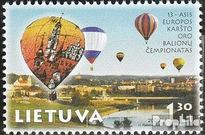 Lithuania 826 (complete.issue.) unmounted mint / never hinged 2003 Ballone