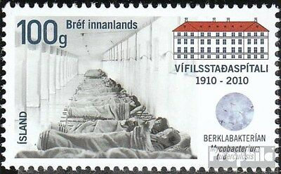 Iceland 1288 (complete.issue.) unmounted mint / never hinged 2010 Sanatorium