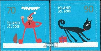 Iceland 1217-1218 (complete.issue.) unmounted mint / never hinged 2008 christmas