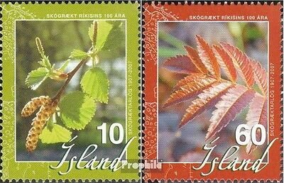 Iceland 1155A-1156A (complete.issue.) unmounted mint / never hinged 2007 affores