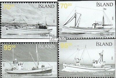 Iceland 1095Eu-1098Eo (complete.issue.) unmounted mint / never hinged 2005 Vesse