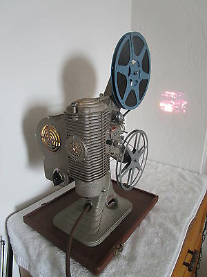 Vintage KEYSTONE 95 NINETY-FIVE 8mm Home Movie Projector WORKING CONDITION