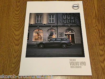VOLVO - The V90 Cross Country Sales Brochure 2017